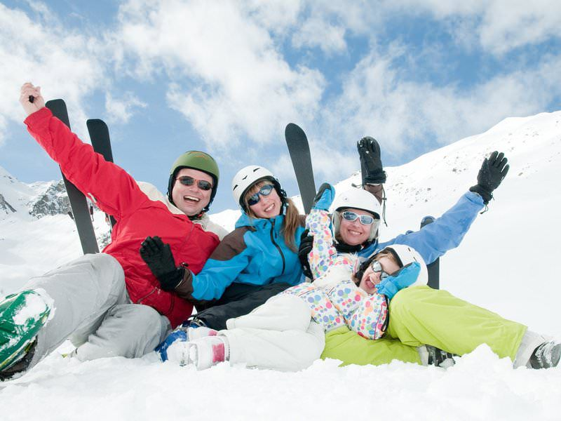 Активный отдых на горных лыжах