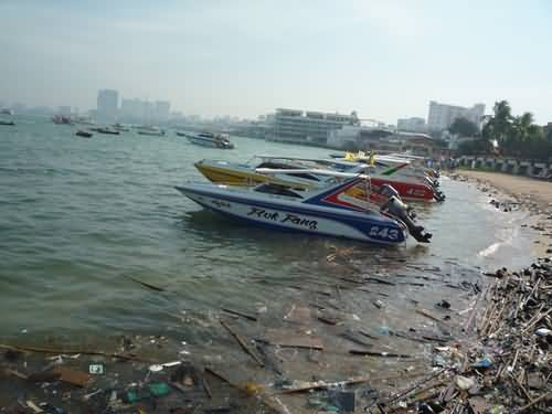 Пляжи Паттайи избавят от скопления мусора