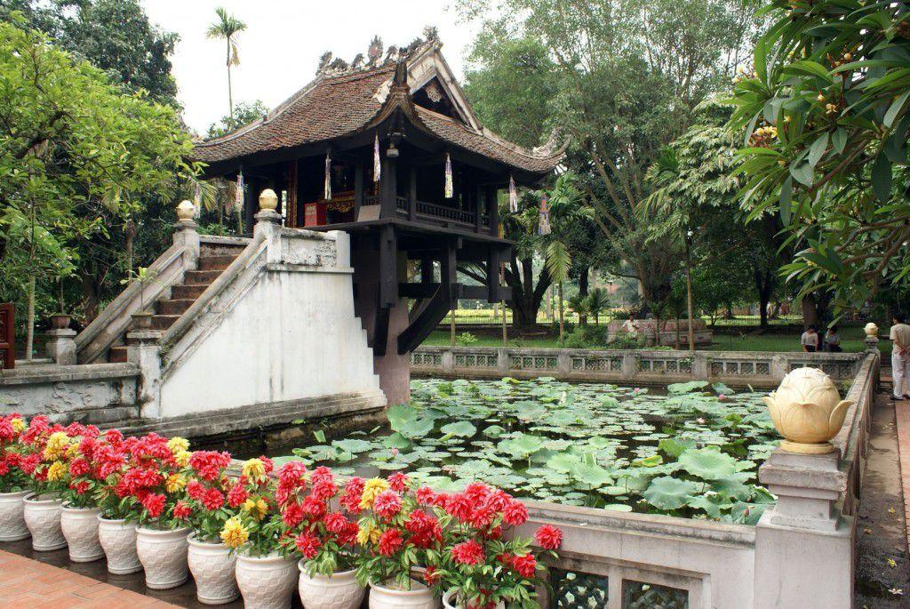 Пагода на одном столбе