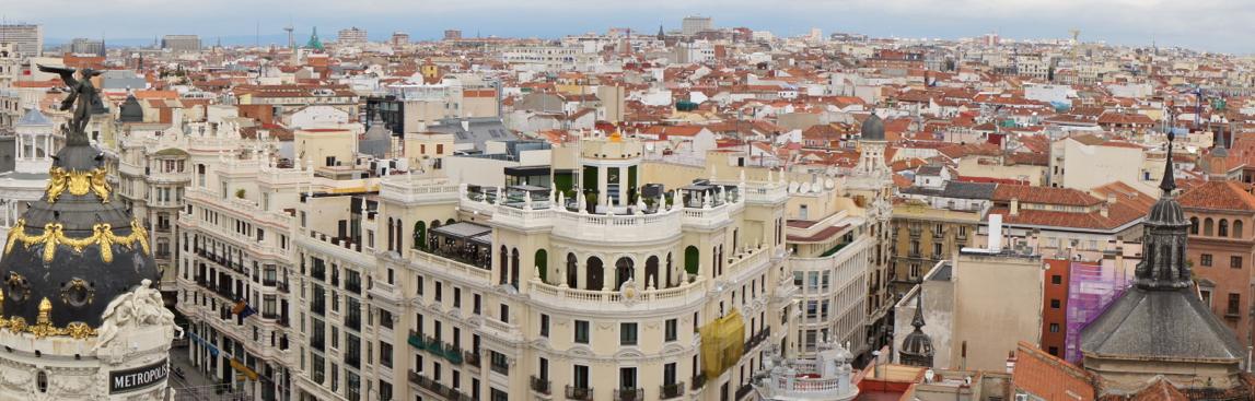 Панорама Мадрида