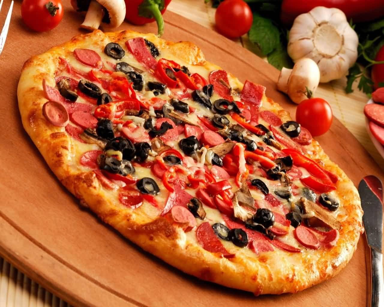Места, где предлагают самую вкусную пиццу