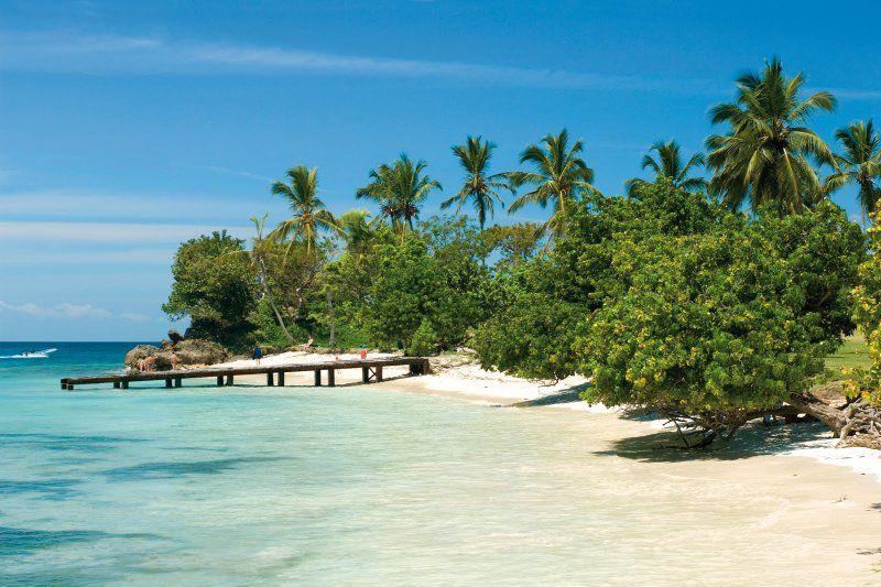 Пляжи острова Кайо-Левантадо
