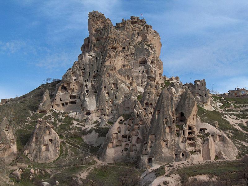 Каппадокия, города-пещеры