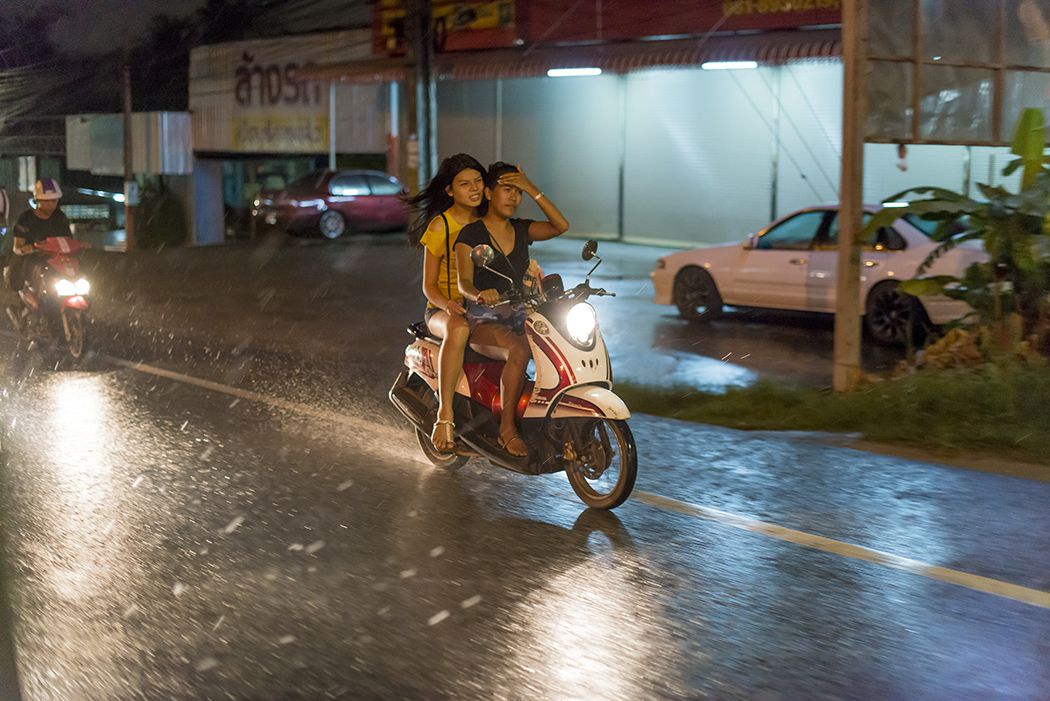 Временные осадки в Таиланде